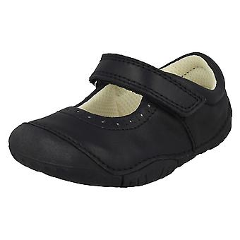 Girls Startrite Casual Shoes Cruise - Navy Nubuck - UK Size 2H - EU Size 17.5 - US Size 3