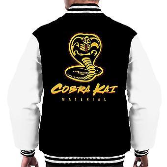 Cobra Kai materiale Karate Kid menn Varsity jakke