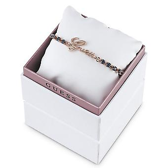 Guess ladies bracelet stainless steel of Rosé gold UBS21505-S