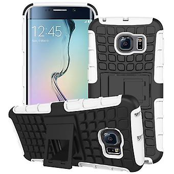 Hybrid case 2 piece SWL robot white for Samsung Galaxy S6 edge plus SM G928 F