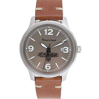 Aristo Messerschmitt men's Boxer watch ME BOXER4 leather