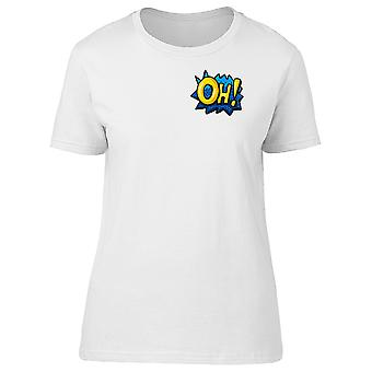 Upperside Oh! Comic Style Tee Women's -Image by Shutterstock