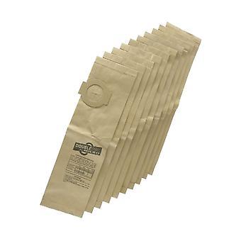 10 × الغبار أكياس الورق النظيف في الفراغ أكواماستير هوفر