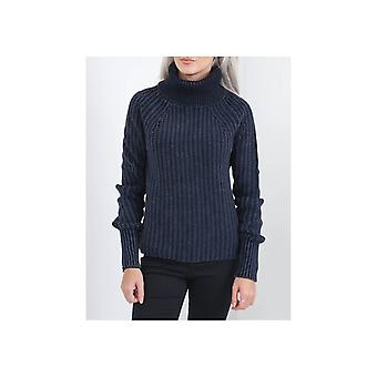 Replay Chunky Knit Roll Neck Jumper