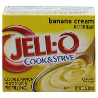Jell-O Banana Cream Cook & Serve Pudding and Pie Filling