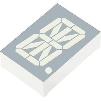 Alphanumeric segment display Red 30.48 mm 3.7 V No. of digits: 1