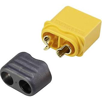 Battery plug XT60 Gold-plated 1 pc(s) Reely