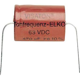Speaker capacitor Visaton Elco 100 UF 100 µF