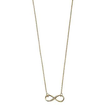 Elements Gold Infinity Necklace - Gold
