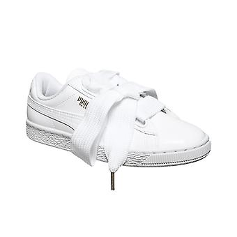 PUMA sneaker basket heart patent Wn's sneakers white