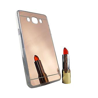 Samsung Galaxy J7 2016 Mobile Shell mirror mirror soft case protection cover rose gold