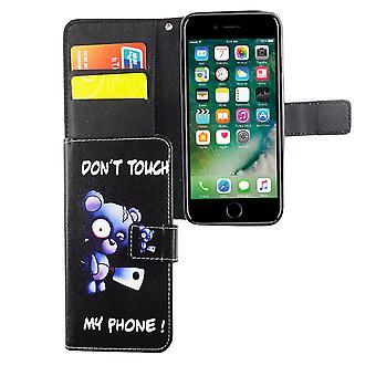 Mobiele telefoon case etui voor telefoon Apple iPhone 6 / 6s bear met bijl
