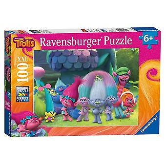 Ravensburger Puzzle Trolls xxl of 100 pieces for children of 6 years