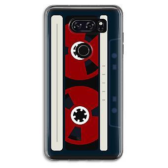 LG V30 Transparent Case - Here's your tape