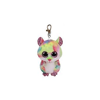 Ty Beanie Babies 36558 Boos Rodney the Pink Hamster Boo Key Clip
