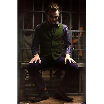 The Dark Knight - Joker Jail Poster Print