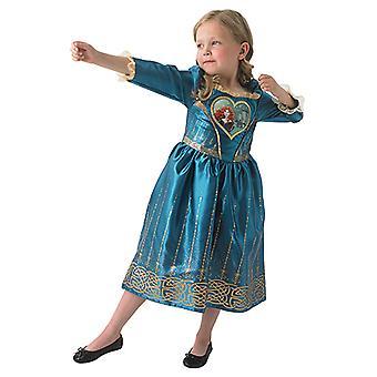 Merida Loveheart meisje prinses jurk Disney kostuum