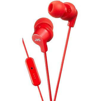 JVC HAFR15R Powerful Sound In-Ear Earphone - Red