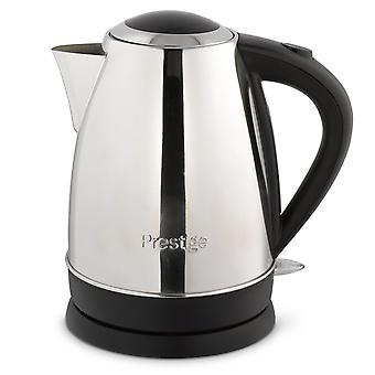 Prestige Black/Silver Stainless Steel 1.7L Electric Jug Kettle (53566)
