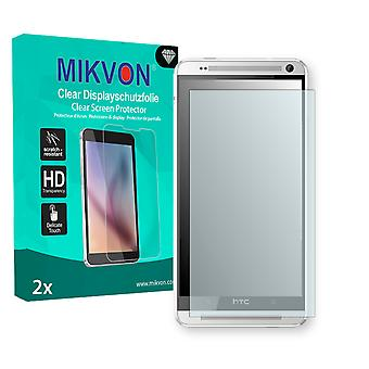 HTC 803s Screen Protector - Mikvon Clear (Retail Package with accessories)
