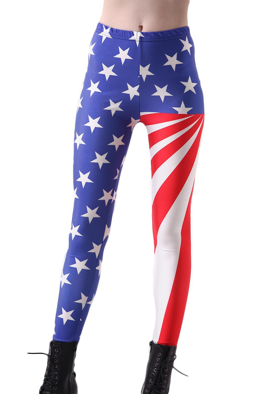 Waooh - Legging imprimé drapeau américain Ifru