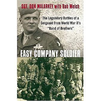 Easy Company Soldier by Don Malarkey - Bob Welch - 9780312563233 Book