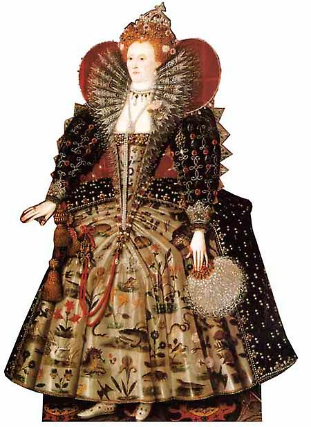 Königin Elizabeth I - Lifesize Karton Ausschnitt / f