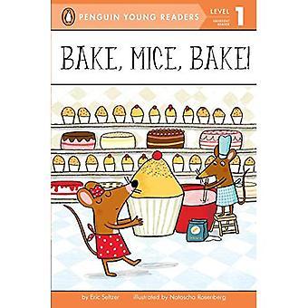 Cuire, souris, cuisson au four! (Pingouin jeunes lecteurs - niveau 1