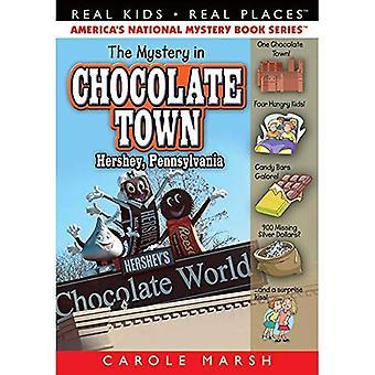 Mystère dans la ville de chocolat Hershey, en Pennsylvanie (Real Kids lieux réels Series, Volume 18)