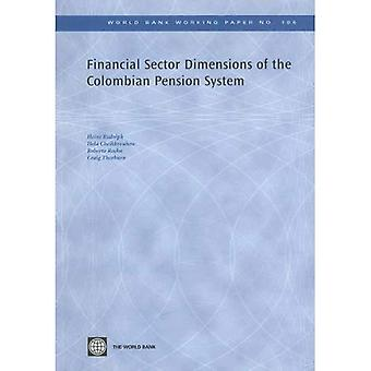 Financial Sector Dimensions of the Colombian Pension System
