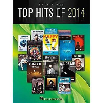 Topp Hits 2014: Lätt Piano sångbok