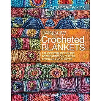 Regenboog haakwerk dekens: Een bloksgewijs-gids voor het creëren van kleurrijke Afghanen en gooit