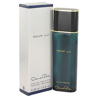 Oscar Pour Lui by Oscar de la Renta Eau De Toilette Spray 1.6 oz / 50 ml (Men)