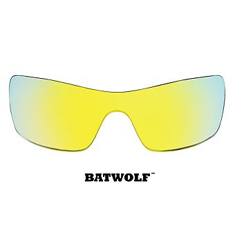 Batwolf vervanging lenzen gepolariseerde Gold Mirror door SEEK past OAKLEY zonnebrillen
