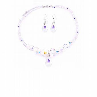 Bridal AB Swarovski Crystals AB Swarovski Crystals Teardrop & Earrings