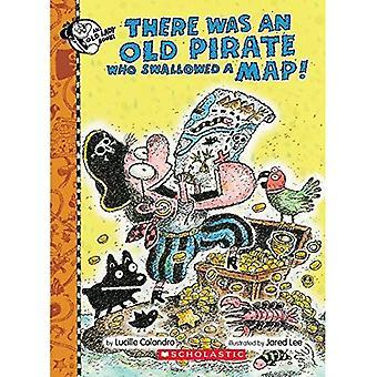 Er Was een oude piraat, die de kaart slikte! (Er Was een oude jongen)