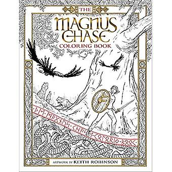 The Magnus Chase Coloring Book (Magnus Chase and the� Gods of Asgard)