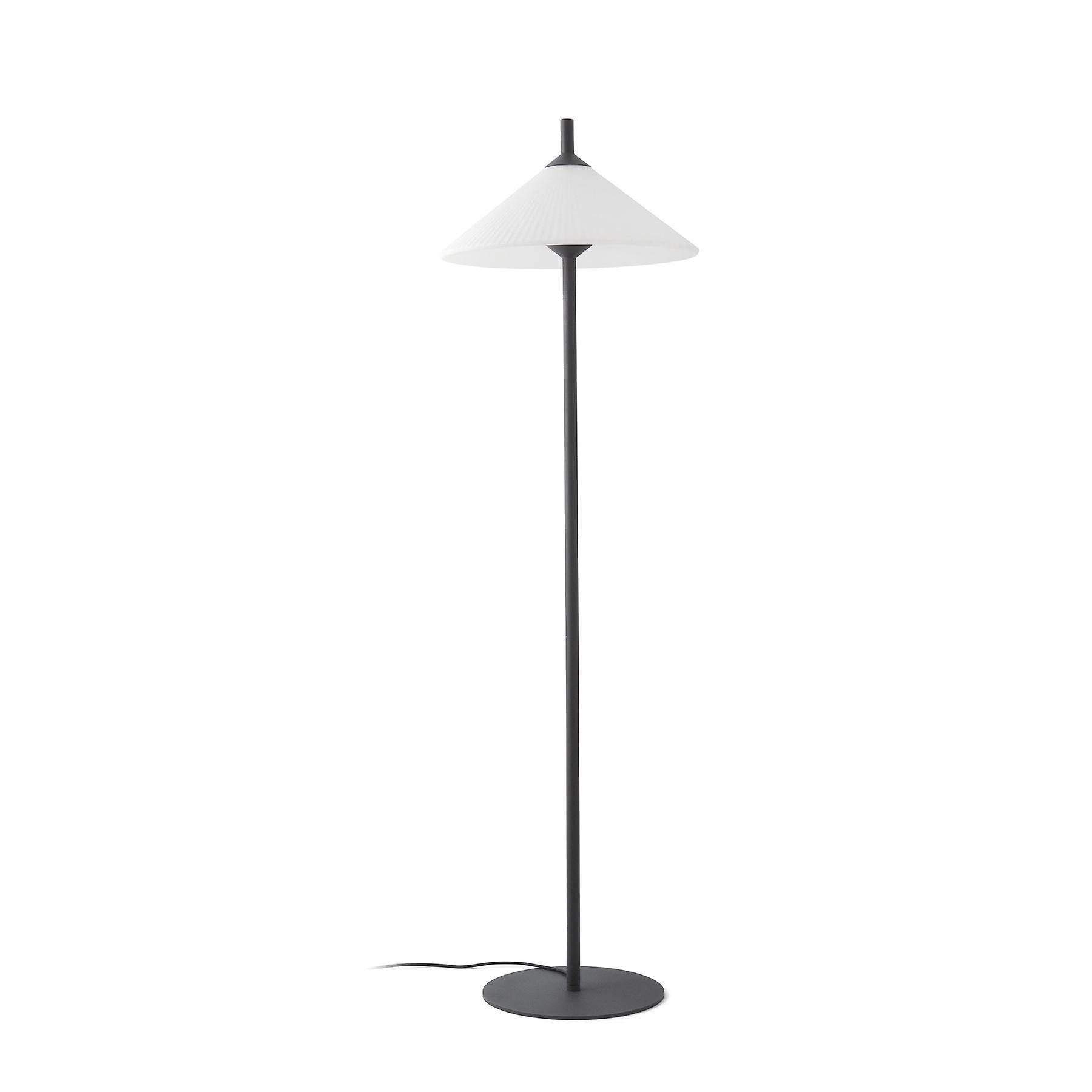Faro - Hue gris And blanc Tall Outdoor Floor Lamp FARO71567