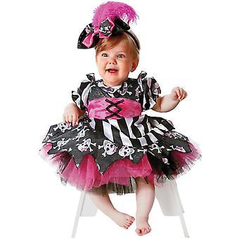 Baby / Toddler Pink Pirate Costume