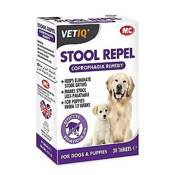 VetIQ Stool Repel Deter Training Aid for Dogs and Puppies, 30 Tablets