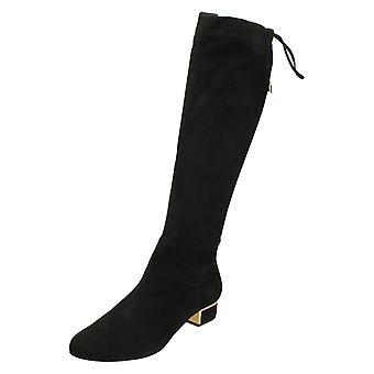 Ladies Elegant Van Dal Knee High Boot Hoople