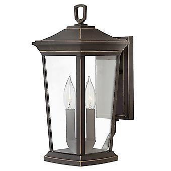 Elstead-2 lumière moyenne mur lanterne-huile frotté finition bronze-HK/BROMLEY2/M