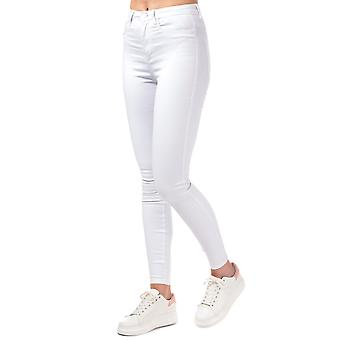 Womens Only Royal High Skinny jeans en blanc