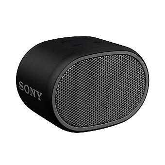 Sony SRS-XB01 Compact Portable Water Resistant Wireless Bluetooth Speaker with Extra Bass - Black