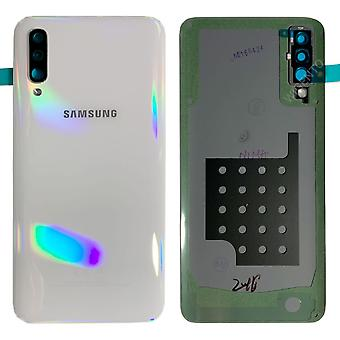 Samsung GH82-19229B battery lid lid for Galaxy A50 A505F + adhesive pad White New