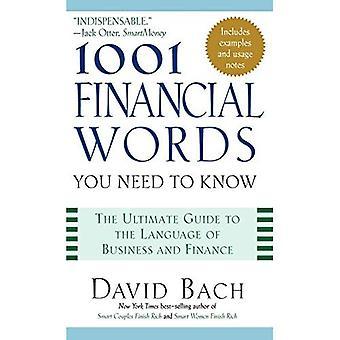 1001 Mots de finance que vous devez savoir (1001 mots que vous devez savoir)