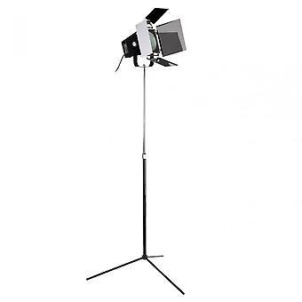 Premier Home Spotlight Floor Lamp, Chrome, Black