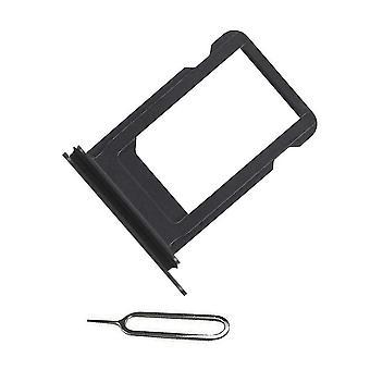 Für iPhone XR SIM Kartenhalter + Ejectpin-Black