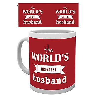 Valentines Worlds Greatest Husband Boxed Drinking Mug