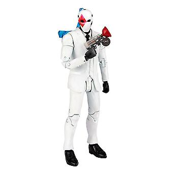 Fortnite 7- Action Figure Wild Card Red 5 tlg. grey/black/red, made of plastic, in blister packaging, by McFarlane.